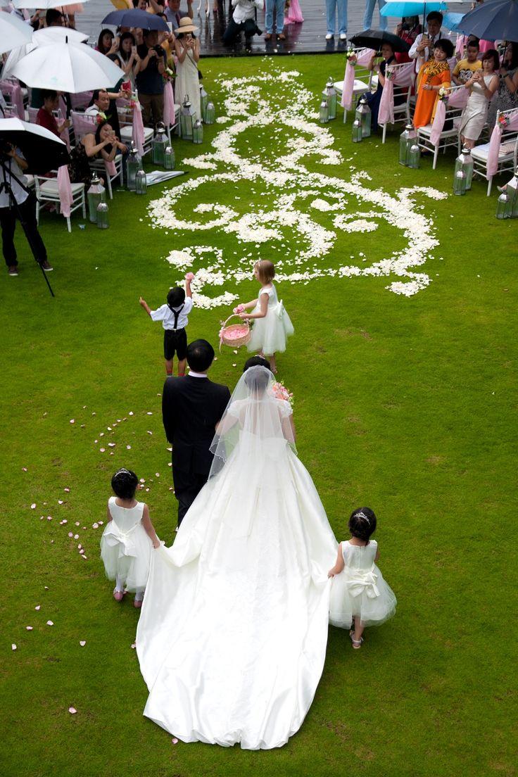 Wedding entrence