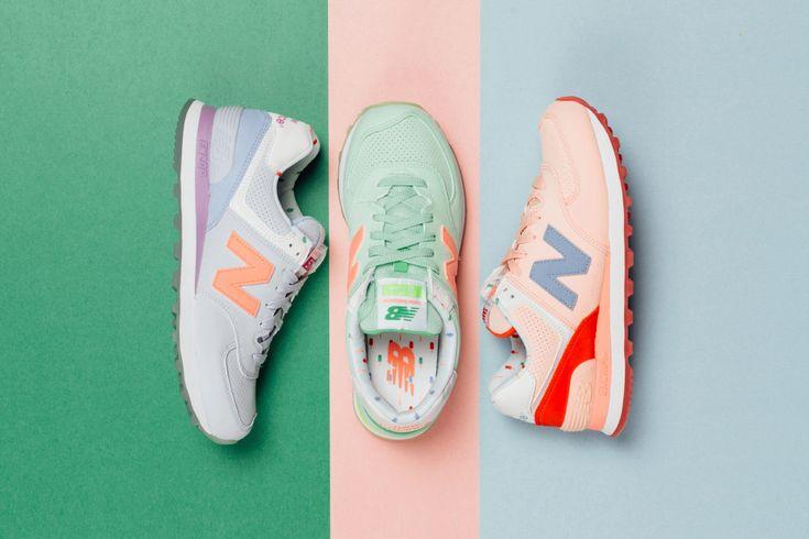 New balance 574 pastel et fluo ! | girlsonmyfeet.com | New balance ...