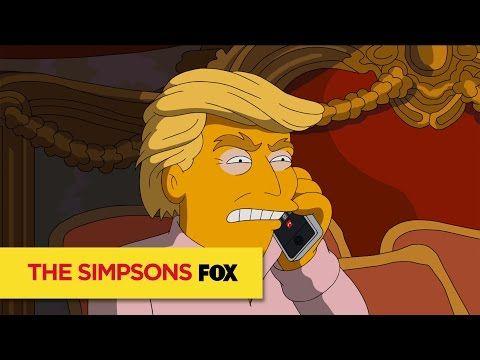 3 a.m. | Trump vs Clinton - The SIMPSONS - YouTube