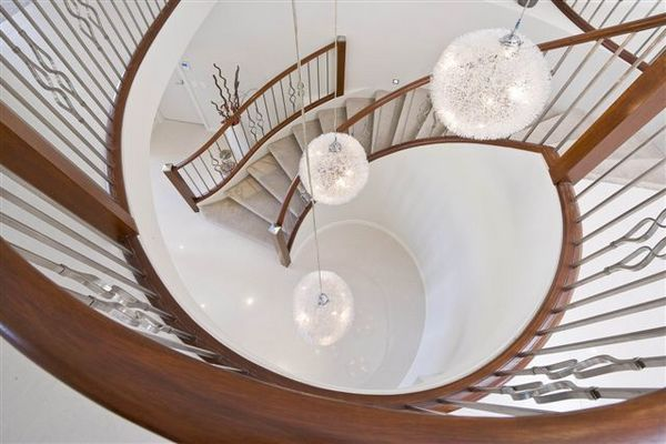 Tranquility Vista architecture design for luxury and fashionable living. #luxuryhome #architecture #stairs