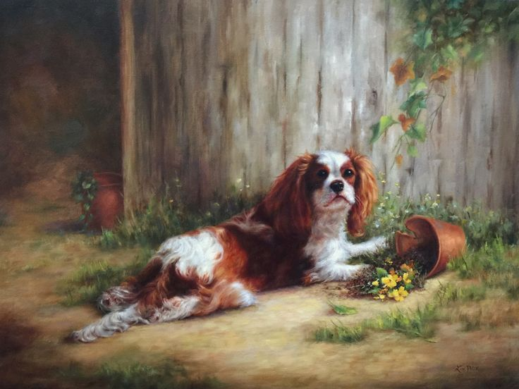 Guilty As Charged by Lisa Price Oil - 18x24