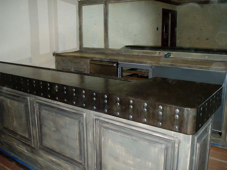 32 best zinc countertops images on pinterest zinc countertops kitchen ideas and kitchen dining on kitchen zinc id=48270
