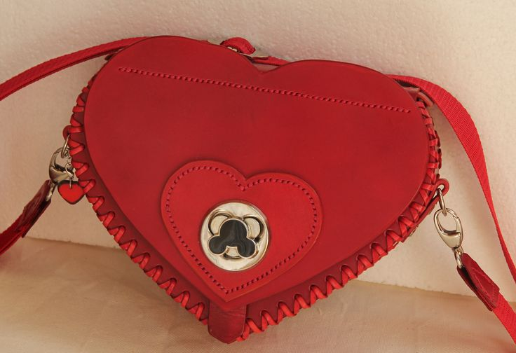 handcrafted leather children's bag