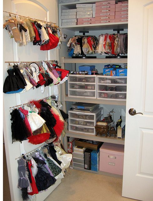 Inside The Doll Closet 1 By Think Pink1265 Via Flickr