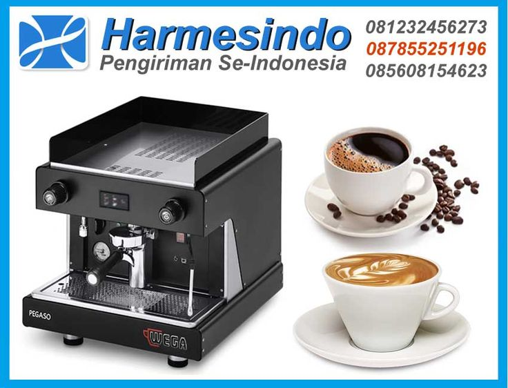Mesin Pembuat Kopi WEGA Pegaso Opaque or White EVD-1 Coffee Maker
