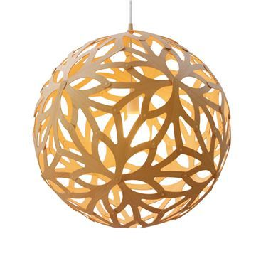 Floral 400 Bamboo Lamp by David Trubridge