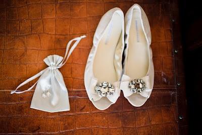 Chaussures de mariage / wedding shoes / Vera Wang Lavender wedding flats