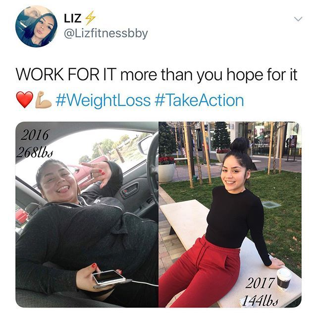 Heath and weight loss transformation. This before and after is so inspiring!