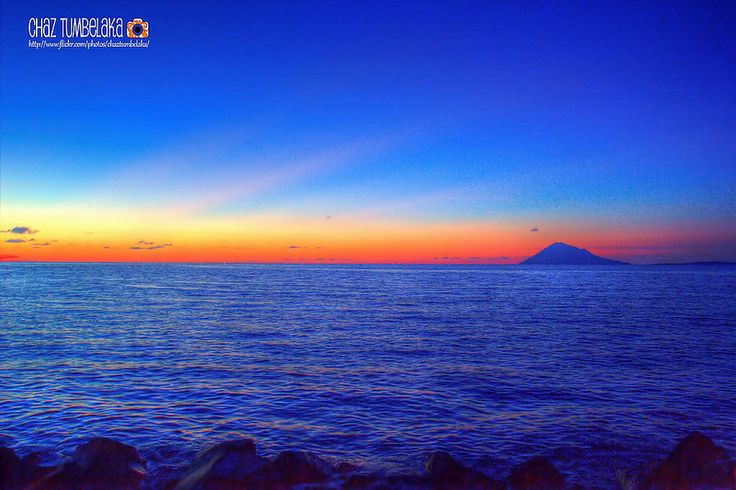 Sunset at Boulevard Manado