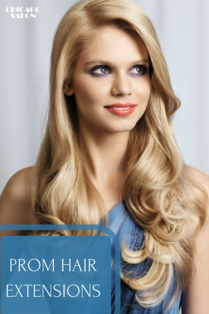 You want to look great for your prom. Why don't you get hair extensions and have your dreamed hair #hair #hairtips #promhairextensions #hairextensions #beauty #hairstyle #chicagohairextensionssalon