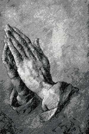 Advanced Embroidery Designs - Albrecht Durer. The Praying Hands.