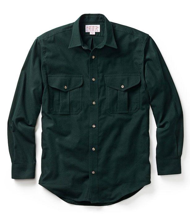 The Filson Alaskan Guide shirt ($110).  >> The Manliest Shirt Of All Time - Filson Flannel Shirt - Esquire