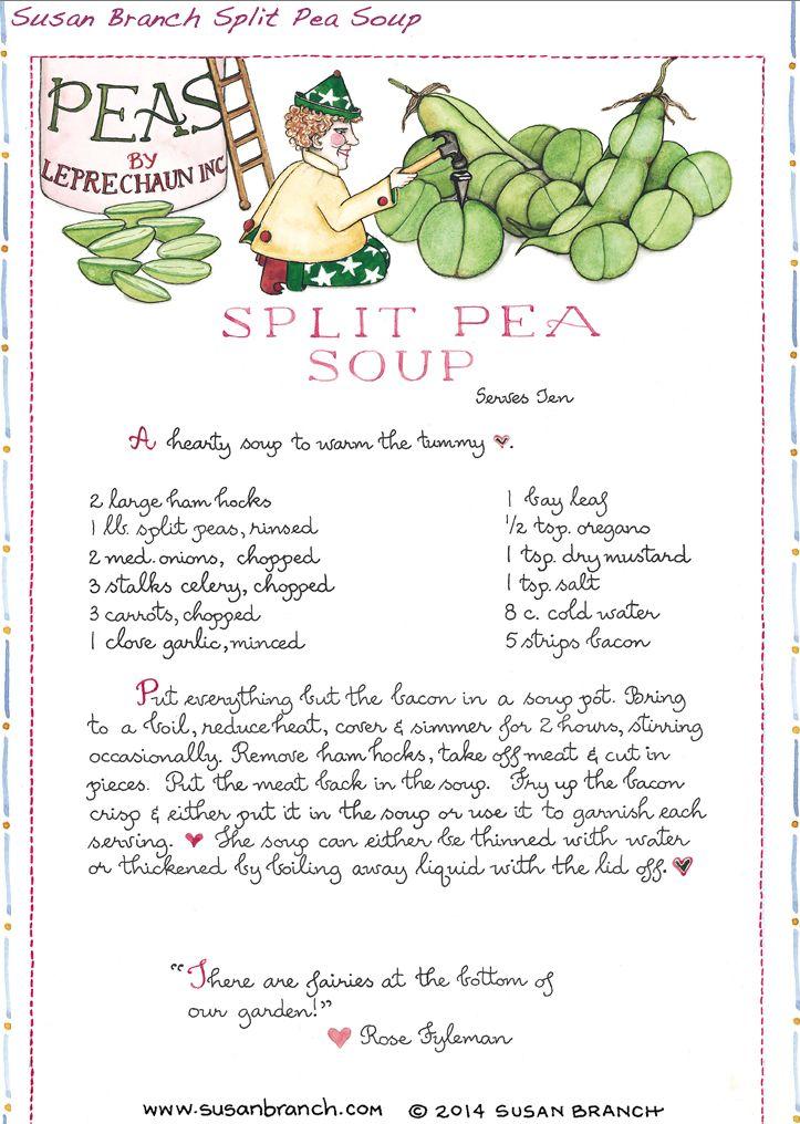 Susan Branch Split Pea Soup