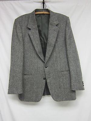 VTG-Saddleworth-Wollen-Co-English-Tweed-Herringbone-2-Button-Blazer-Sport-Coat