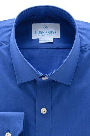 Royal blue dress shirt For The Hubs | Big Fashion Show royal blue dresses