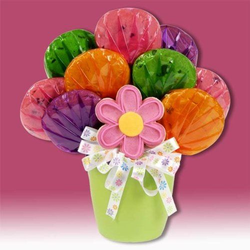Gift Basket Drop Shipping CBHERPOTFLOWER Cookies In Bloom Bouquet <3 Find similar gift idea by clicking the image