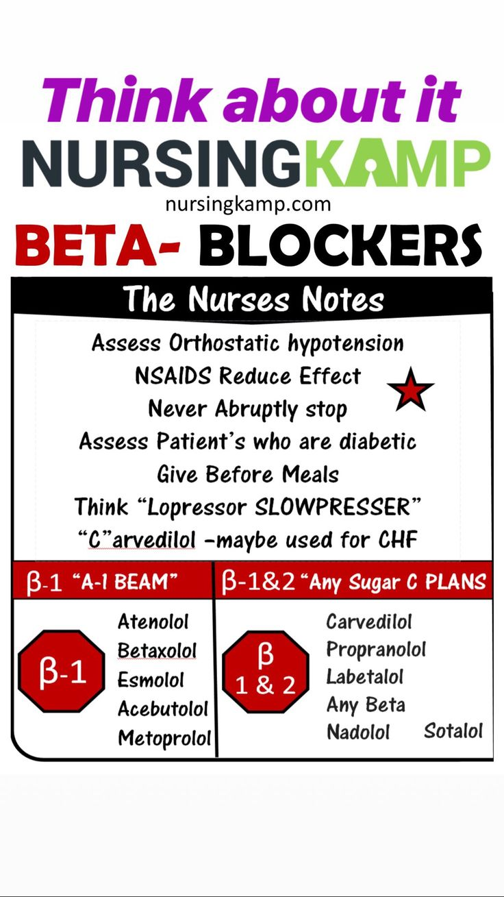 Beta blockers are just not apical assessments there are
