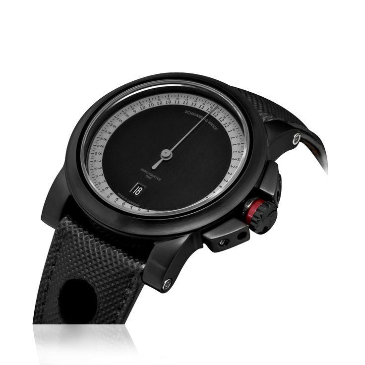 Schaumburg Watch - Gnomonik GT one 2 - The Gnomonik GT ONE is the ultimate watch, even if the model has got on...