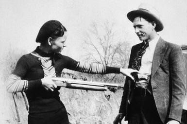The Story of Bonnie Parker and Clyde Barrow