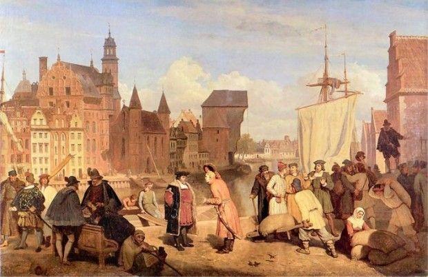 314321-XVII-wieczni-gdanscy-kupcy-w-porcie-na-obrazie-XIX-malarza-Wojciecha-Gersona__c_0_57_700_454.jpg (620×402)