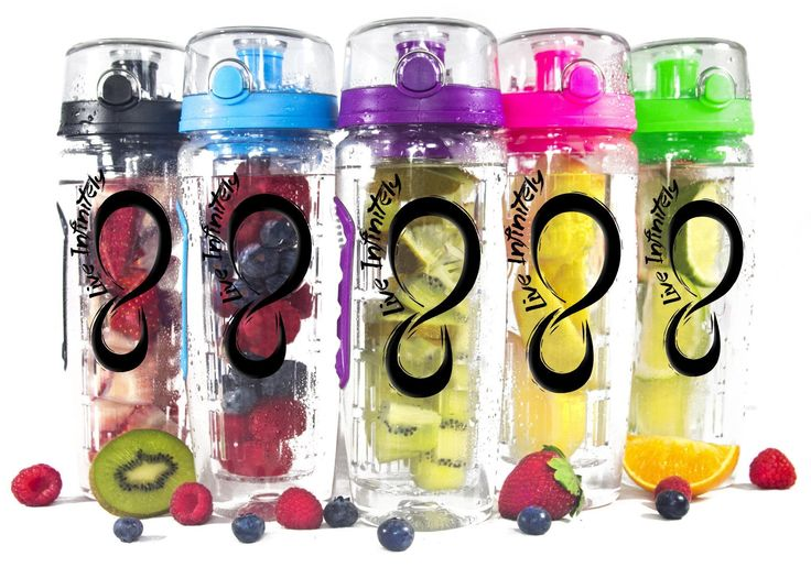 • 32oz Infuser Bottle made from Shatterproof Eastman Tritan • Full Length Infuser Rod for completely flavored water! • Flip Top Lid with quick thumb release & secondary latch • Convenient Carrying Loo