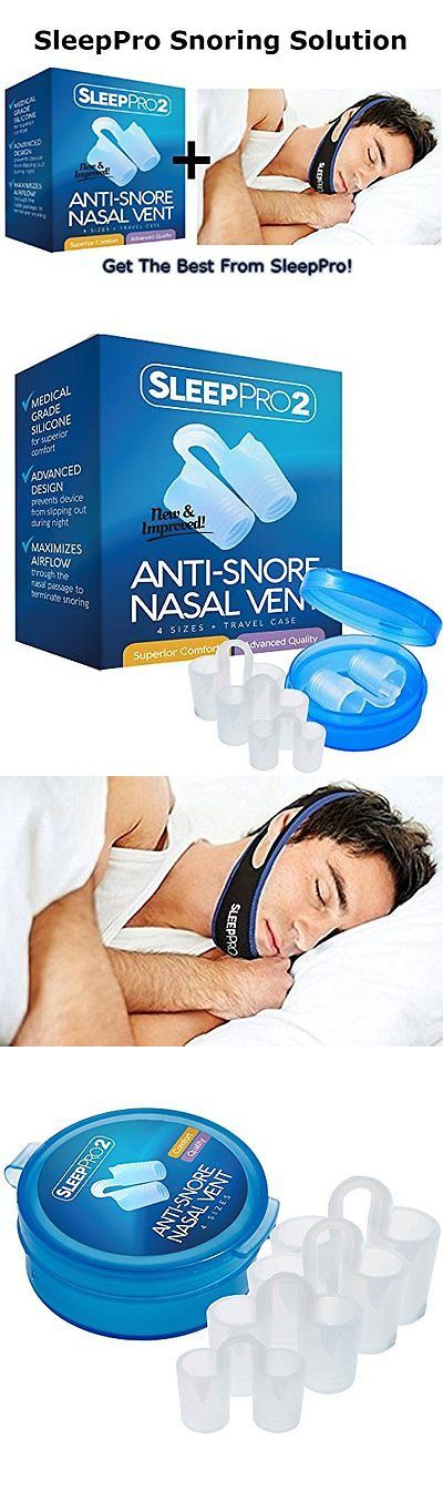 Chin Straps: Sleeppro™ Snore Solution Combo - Sleeppro™ Premium Advanced Anti Snoring Nose -> BUY IT NOW ONLY: $32.58 on eBay!