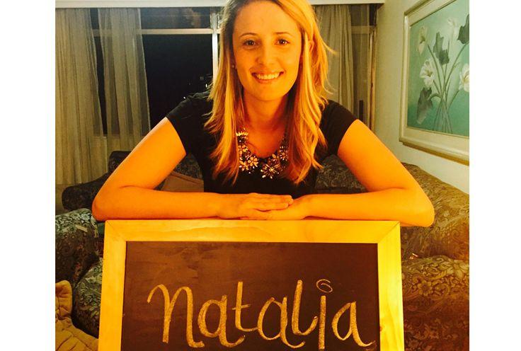 Mi nombre es Natalia ¿Cuál es el tuyo?