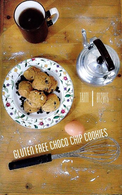 DiNeAt: Gluten Free Choco Chip Cookies - 1st Trial