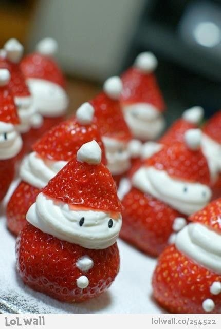 Snowberries...cutest christmast snack e-ver!