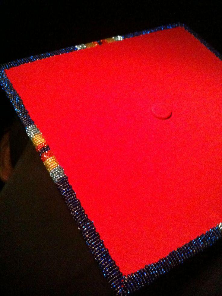 Cap Beaded American Native Graduation