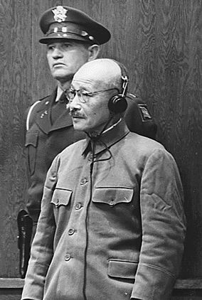 japanese soldiers who did not know ww2 ended | 1948: Hideki Tojo and six other Japanese war criminals