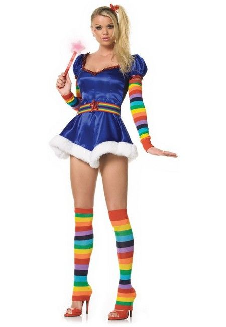 Rainbow bright costuming  I could do this......less slutty though!