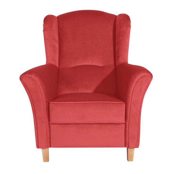Die besten 25+ Sessel rot Ideen auf Pinterest Orange wandfarben - wohnzimmer orange rot