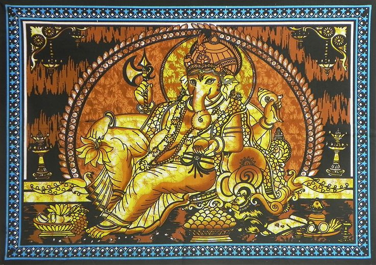 17 Best Images About Paintings Of Lord Ganesha On