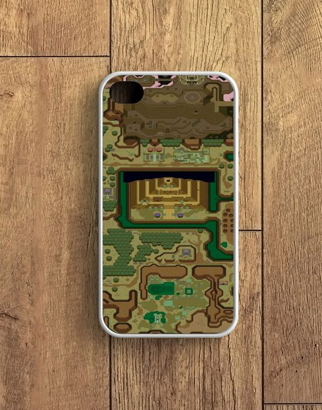 Zelda A Link To The Past Dark World Map iPhone 4 | 4S Case