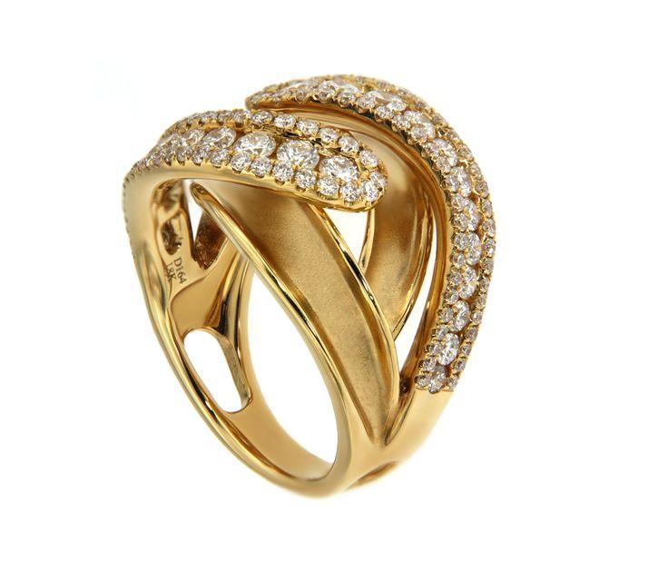 Gold Ring Yellow Diamond