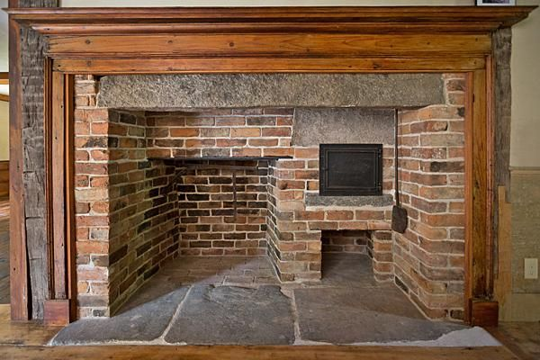 c. 1775.  A good bit like our fire place in our 1759 saltbox. | Fireplaces | Pinterest | Fire places