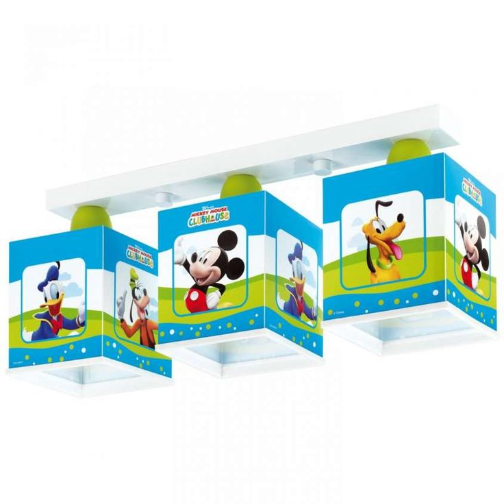 Lampadari per bambini - Lampadario Mickey Mouse