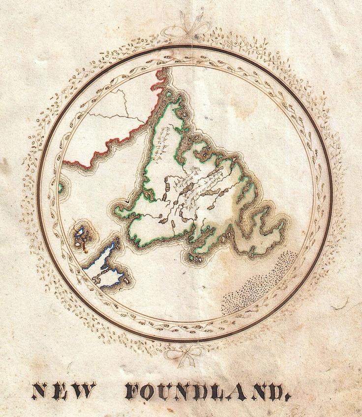 The 25 best Newfoundland map ideas on Pinterest  Newfoundland