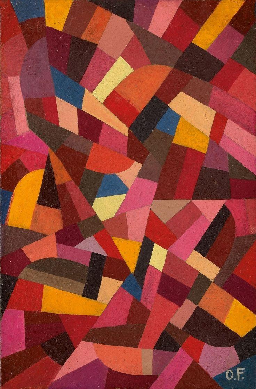 Otto Freundlich, Komposition, 1940, Auktion 943 Moderne Kunst, Lot 64