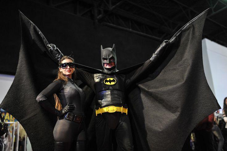 Comic-Con Argentina 2015 Catwoman Selina Kyle y Batman