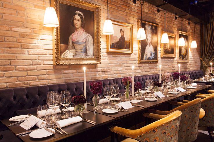 #restaurant #paintings #jacquesgarcia #casacoppelle