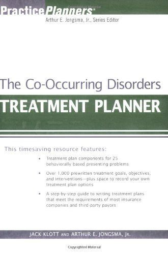 The Co Occurring Disorders Treatment Planner