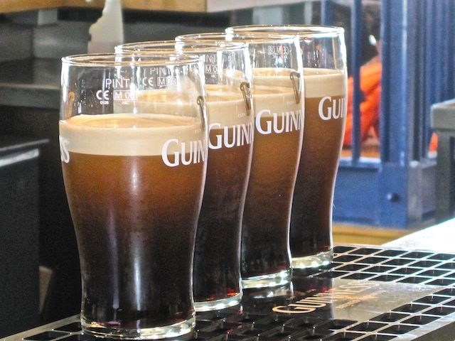 Touring the Guinness Storehouse in Ireland