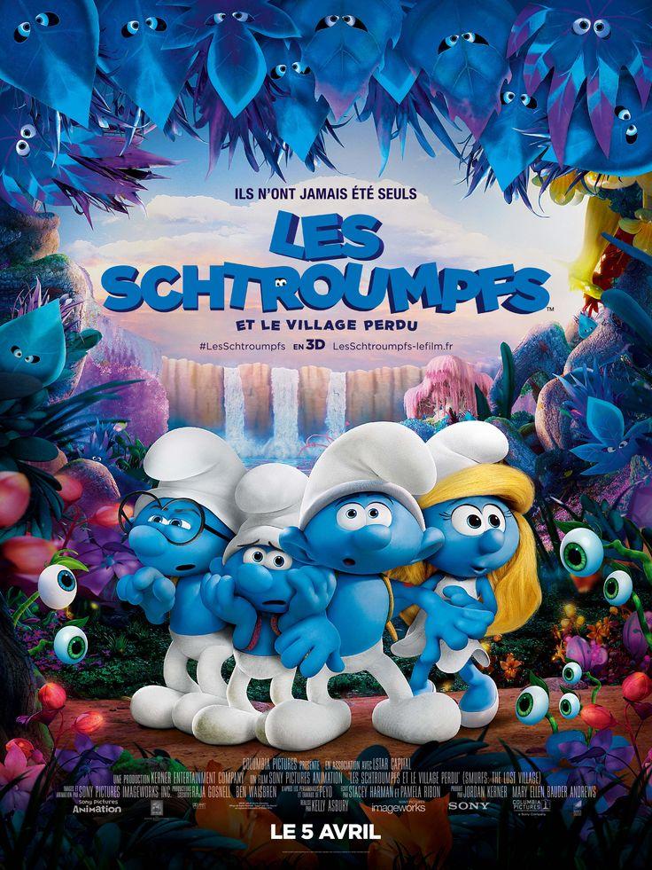 Les Schtroumpfs et le village perdu - nouvelle bande annonce disponible. Au cinéma le 05 avril 2017 #LesSchtroumpfs #Cinema