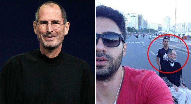 Polémica selfie pone en duda la muerte de Steve Jobs