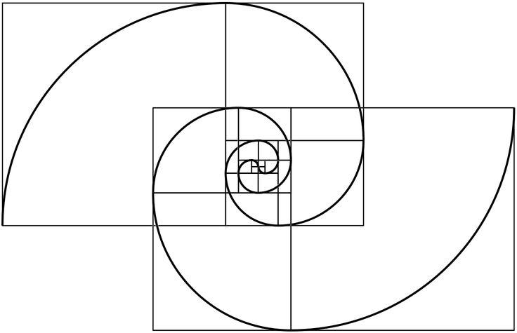 Combined a fibonacci with a fermat spiral - Imgur More