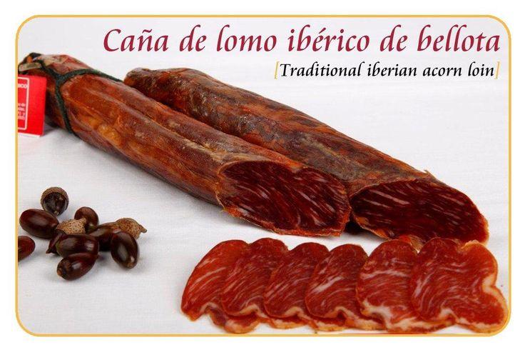 Caña de Lomo Ibérica de Bellota NATURAL