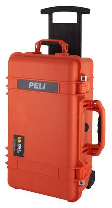 Peli 1510-000-150 Case - watertight, crushproof, and dust-proof, automatic pressure equalization valve, military standard.
