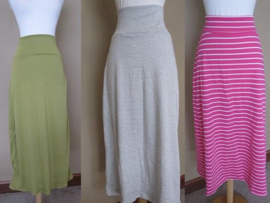 Such nice summer skirts and instructions too!